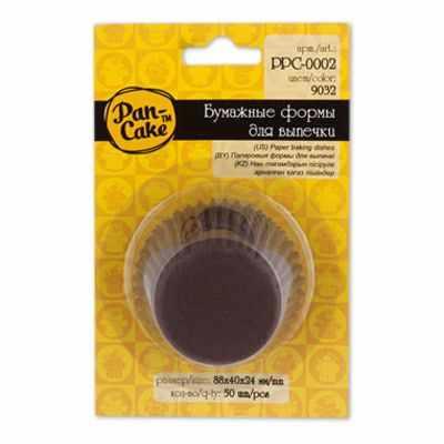 PPC-0002 Формы для выпечки .9032 коричневый