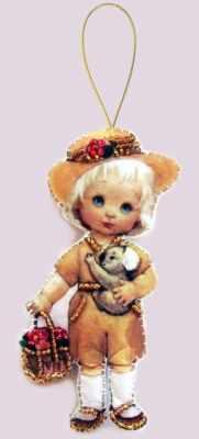 F058 Кукла. Австралия - Butterfly