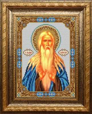 Набор для вышивания иконы Вышиваем бисером L-138 Святой Макарий