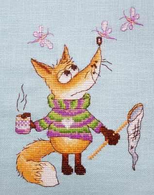 07.002.11 Ловец (МИ) - Наборы для вышивания «Марья Искусница»