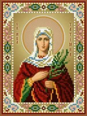 1Нбис-049 Св. Мч. Татьяна-набор - Наборы для вышивания икон «Художественные мастерские»