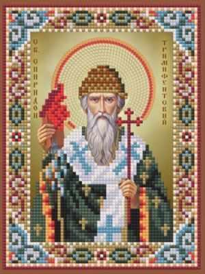 1Нбис-053 Св. Спиридон Тримифунтский-набор - Наборы для вышивания икон «Художественные мастерские»