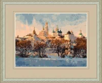 1НКЦ-002 Сергиев Посад-набор - Наборы для вышивания «Художественные мастерские»