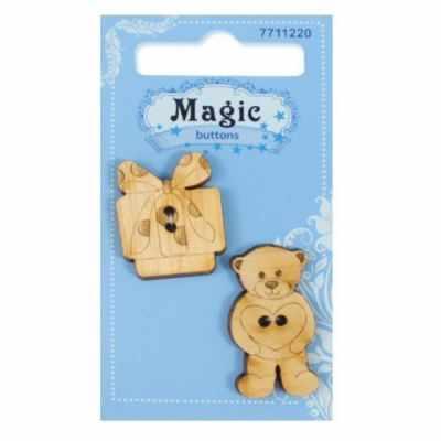 Декоративные элементы и украшения для скрапбукинга Magic Buttons BBL017-MX-P Набор пуговиц Подарок