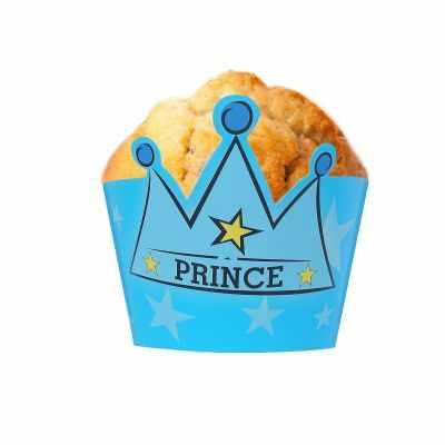 1277416 Украшение для кексов Принц с короной