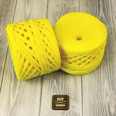 Трикотажная пряжа KNITKA Трикотажная пряжа Цвет. Желтый