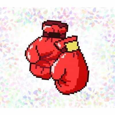 Флизелин с рисунком Confetti K105 Бокс