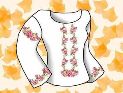 Заготовка для вышиванки Каролинка КБС/хб/бязь-07 Заготовка для сорочки (Каролинка)