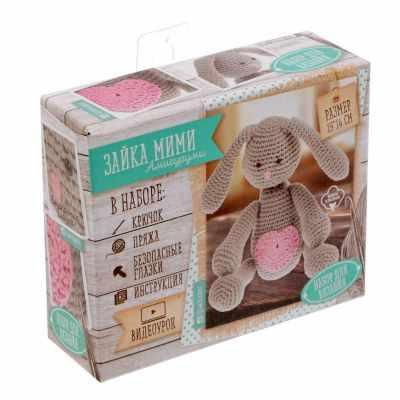 1657302 Набор для вязания: Мягкая игрушка Зайка Мими