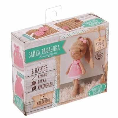 1657304 Набор для вязания: Мягкая игрушка Зайка Рафаэлка