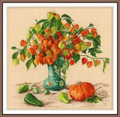Набор для вышивания Овен 987 Осенние фонарики