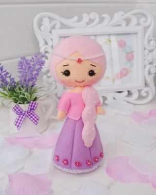Набор для изготовления изделий из фетра ТУТТИ 04-01 Принцесса Рапунцель