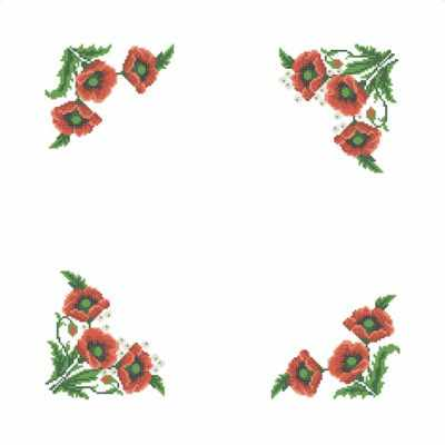 ККСН/хб/07 Набор для салфетки (Каролинка) - Вышиванки «Каролинка»