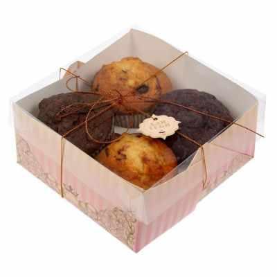 Упаковка для выпечки - 1243609 Коробочка для кексов