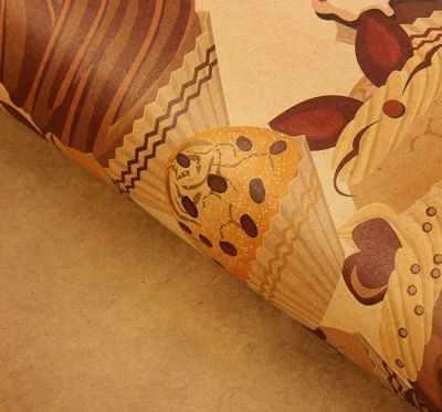 Бумага для упаковки подарков - 1317362 Бумага упаковочная крафт