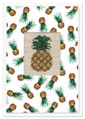 Набор для вышивания Luca-S (S)P-70 Набор для изготовления открытки