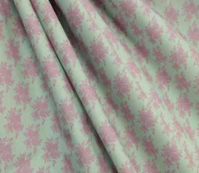 AM590010 Ткань Нежные винтажные розы№11