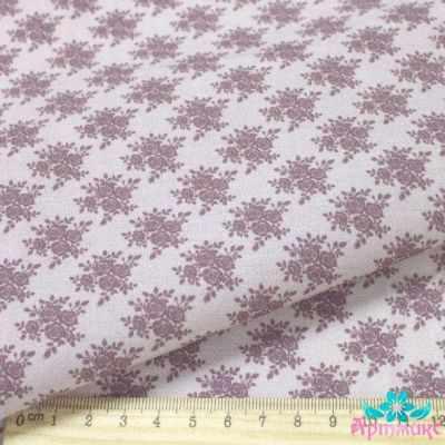 AM590013 Ткань Нежные винтажные розы№14
