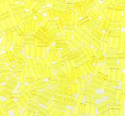 Бисер TOHO №0012 лимонный BUGLE №2 3 мм