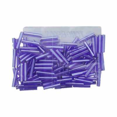Бисер TOHO №0026C фиолетовый BUGLE №3 9 мм