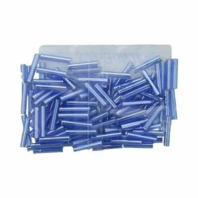Бисер TOHO №0082 синий BUGLE №3 9 мм