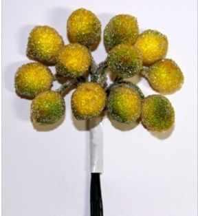 DKB015 Декоративный букетик Рукоделие Лимоны в сахаре