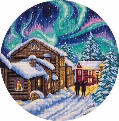 Фото - Набор для вышивания Panna PS-1977 Северная зима набор для вышивания panna ps 1615 осенний венок