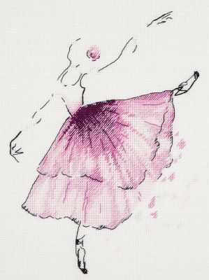 Набор для вышивания Panna C-1886 Балерина. Анемон panna набор для вышивания panna балерина роза