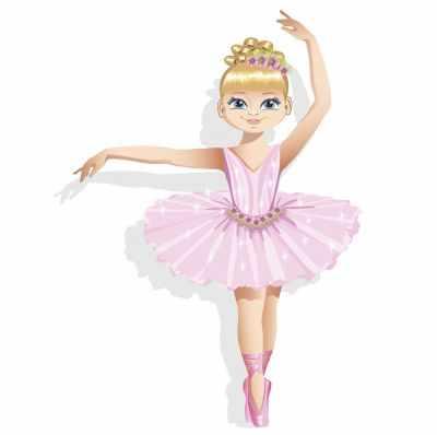 П23 Балерина в розовом
