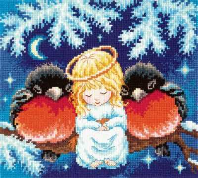 35-25 Душевная теплота - Наборы для вышивания «Чудесная игла»