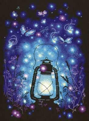 89-02 Наш волшебный вечер - Наборы для вышивания «Чудесная игла»