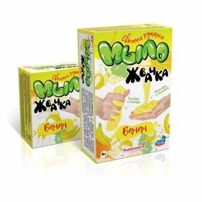 2700770055238 Набор для изготовления мыла-жвачки Банан