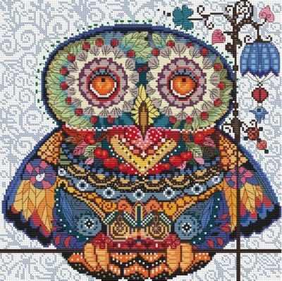 167-14 Волшебная сова (Белоснежка) - Наборы для вышивания «Белоснежка»