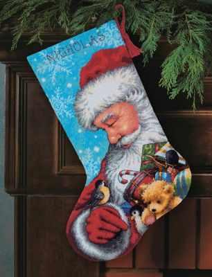 9145 DMS Santa and Toys Stocking