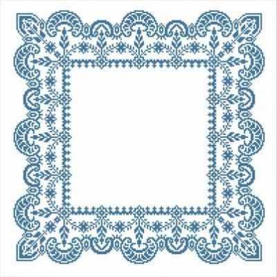 Основа для вышивания с нанесённым рисунком Каролинка ККС/хб/ бязь - 001 Заготовка салфетки крестом - схема для вышивания (Каролинка)