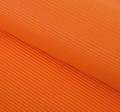 Бумага для упаковки подарков - 129020 Бумага гофрированная, цвет оранжевый