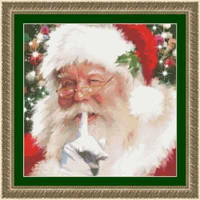97647 Санта, тссс! KKrafts - Наборы для вышивания «Kustom Krafts»