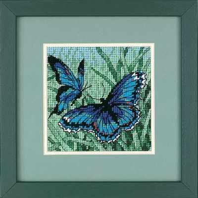 7183 DMS Дуэт бабочек