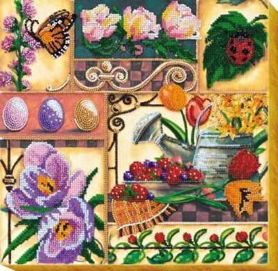 АВ-536 Набор  Весенние сокровища  - Наборы для вышивания «Абрис-Арт»