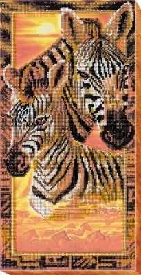 АВ-539 Набор  Зебры  - Наборы для вышивания «Абрис-Арт»