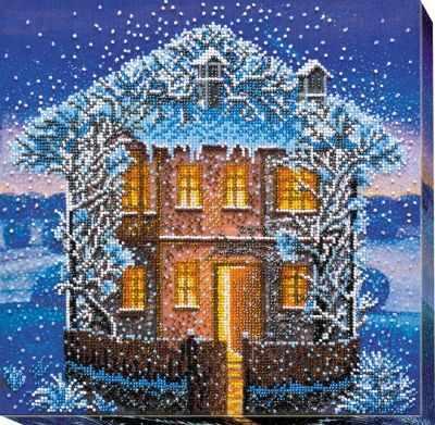 АВ-546 Набор  Зимняя ночь  - Наборы для вышивания «Абрис-Арт»