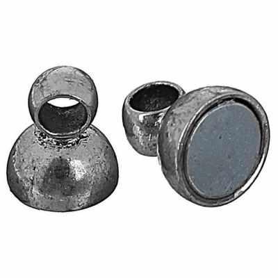 1571245 Замок магнитный FMK-M01, №03 под античное серебро