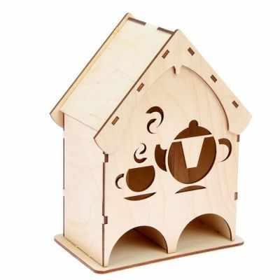 2078193 Чайный домик из фанеры Чаепитие