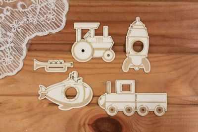 Чипборд Просто небо арт.Д-225 Набор игрушек для мальчика