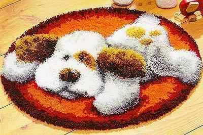 Набор для вышивания Vervaco PN-0014353 (2566-37061) Коврик Собака