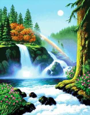 60-6141-НЛ Летний день в лесу  набор для вышивания (А. Токарева) - Наборы для вышивания Александры Токаревой