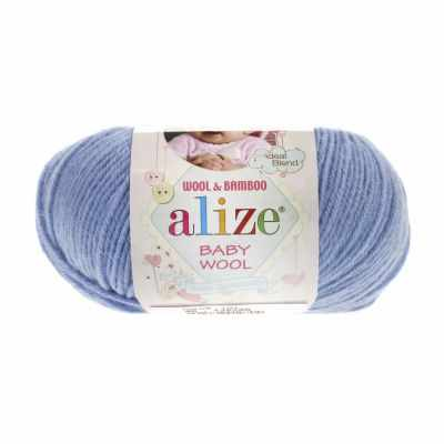 Пряжа Alize Пряжа Alize Baby Wool Цвет.40 Голубой