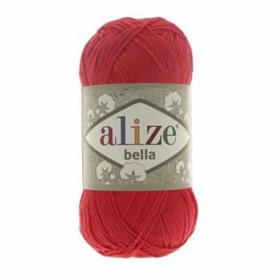Пряжа Alize Пряжа Alize Bella Цвет.56 Красный