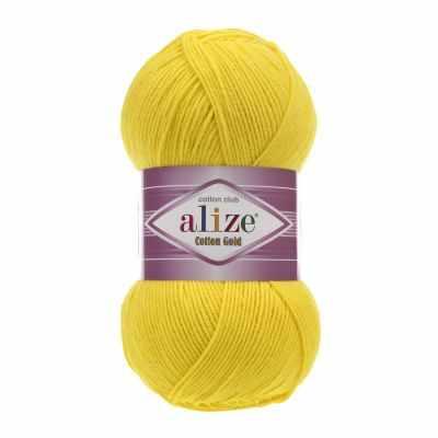 Пряжа Alize Пряжа Alize Cotton Gold Цвет.110 Желтый