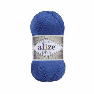 Пряжа Alize Пряжа Alize Diva Цвет.132 Т.голубой